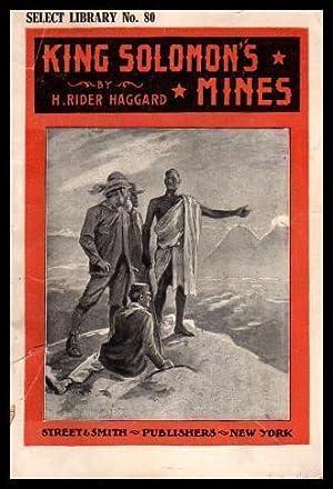 KING SOLOMON'S MINES - An Allan Quatermain: Haggard, H. Rider