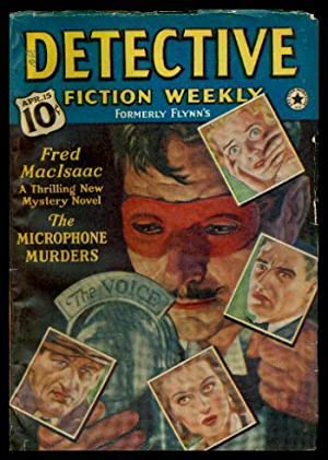 DETECTIVE FICTION WEEKLY (formerly Flynn's) - Volume: Anonymous (editor) (Fred