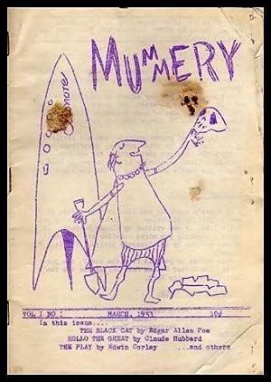 MUMMERY - Volume 1, number 1 -: Corley, Edwin (editor)