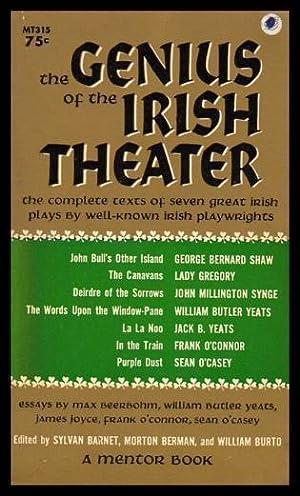 THE GENIUS OF IRISH THEATER: Barnet, Sylvan (editor)
