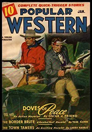 POPULAR WESTERN - Volume 30, number 1 - January Jan 1946