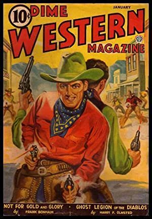 DIME WESTERN - Volume 33, number 6 - January 1943