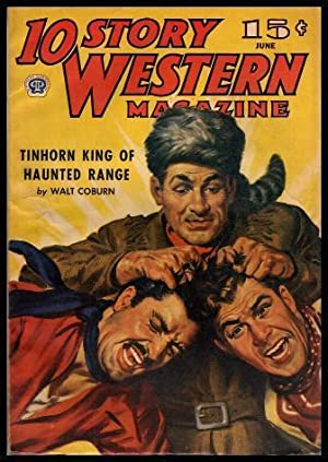 10 STORY WESTERN - Volume 21, number 27 - June 1945