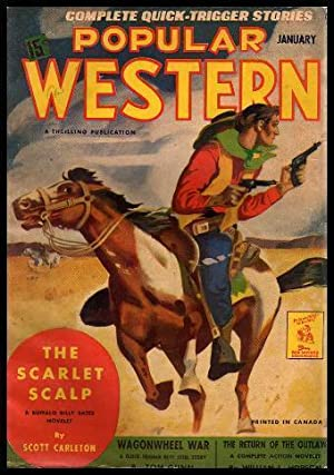 POPULAR WESTERN - Volume 23, number 1 - January 1943