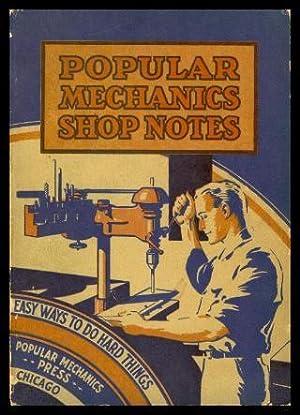 POPULAR MECHANICS SHOP NOTES 1934: Anonymous (editor)