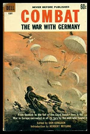 COMBAT - The War with Germany: Congdon, Don (editor)
