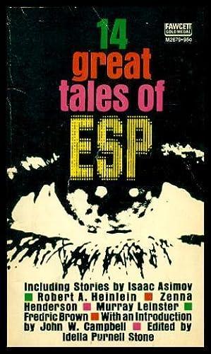 14 GREAT TALES OF ESP: Stone, Idella Purnell