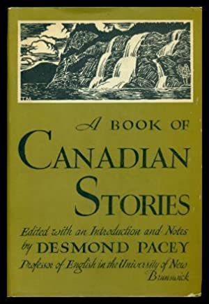 A BOOK OF CANADIAN STORIES