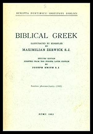 BIBLICAL GREEK