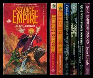 SAVAGE EMPIRE - Book One: Savage Empire; Book Two: Dragon Lord; Book Three: Captives; Book Four: ...