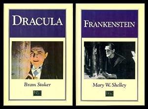 DRACULA - and - FRANKENSTEIN: Stoker, Bram; Shelley,
