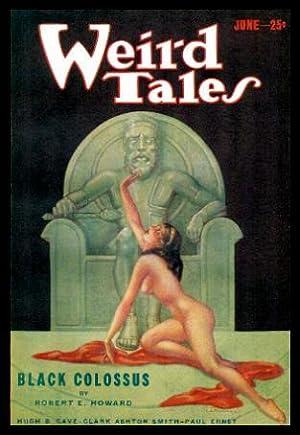 WEIRD TALES - Volume 21, number 6: Wright, Farnsworth (editor)