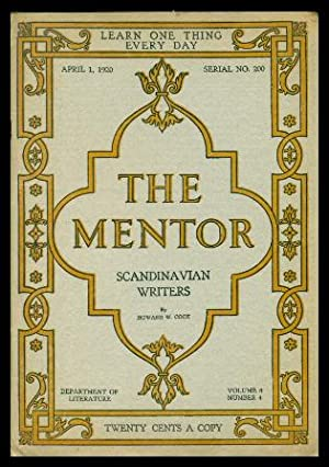 THE MENTOR - SCANDINAVIAN WRITERS - April 1 1920 - Serial Number 200 - Volume 8, number 4