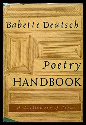 POETRY HANDBOOK - A Dictionary of Terms