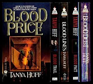 BLOOD TIES: Book One: Blood Price; Book Two: Blood Trail; Book Three: Blood Lines; Book Four: Blo...