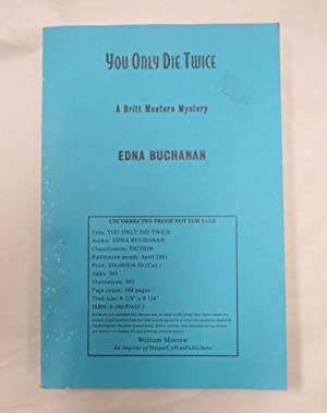 You Only Die Twice (ADVANCED READING COPY-UNCORRECTED PROOF)