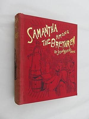 """Samantha Among the Brethren: Josiah Allen's Wife"""""""