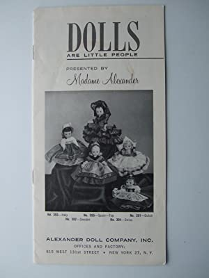 Dolls Are Little People: Alexander, Madame