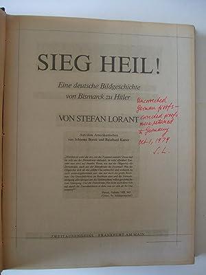 Sieg Heil!: Lorant, Stefan