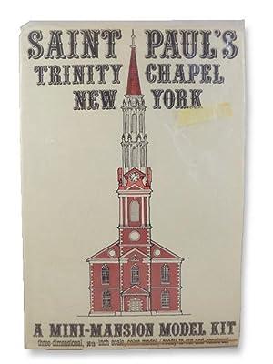 Saint Paul's Trinity Chapel, New York -: Killeen, Roy &