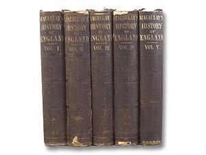 The History of England from the Accession: Macaulay, Thomas Babington