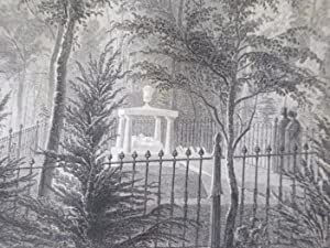 Mount Auburn Illustrated. In Highly Finished Line Engravings, from Drawings Taken on the Spot, by ...