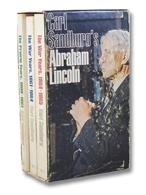 Abraham Lincoln 3-Volume Set (The Prairie Years;: Sandburg, Carl