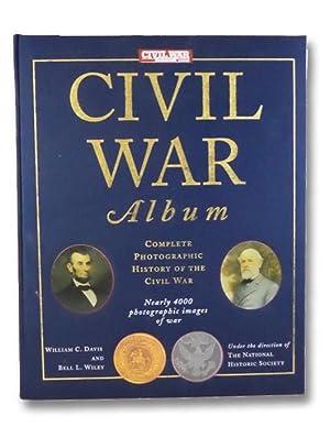 Civil War Album: Complete Photographic History of: Davis, William C.;