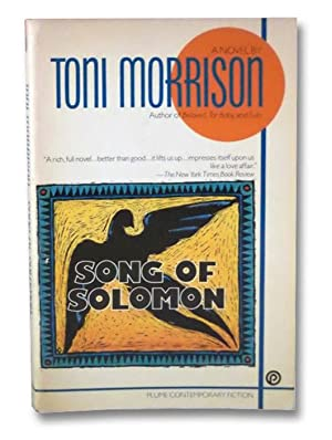 research papers song you choose solomon toni morrison