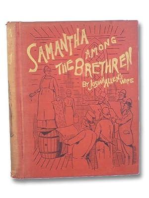 Samantha Among the Brethren: Josiah Allen's Wife