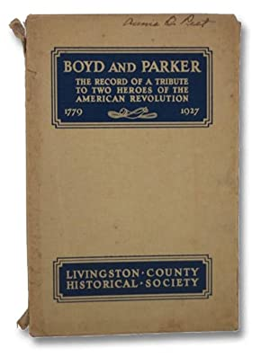 Boyd and Parker: Heroes of the American: Doty, Lockwood R.