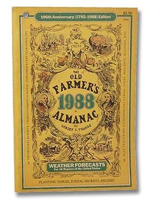 The Old Farmer's Almanac, 196th Anniversary (1792-1988): Thomas, Robert B.