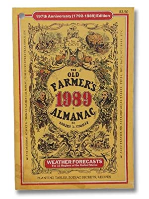 The Old Farmer's Almanac, 197th Anniversary (1792-1989): Thomas, Robert B.