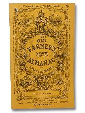 The Old Farmer's Almanac, 183rd Anniversary (1792-1975): Thomas, Robert B.