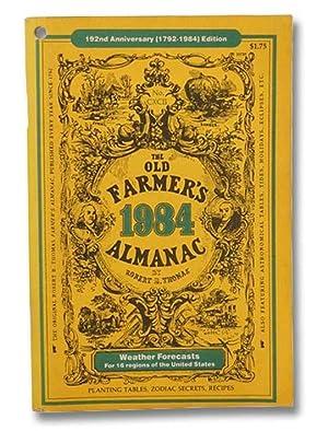 The Old Farmer's Almanac, 192nd Anniversary (1792-1984): Thomas, Robert B.