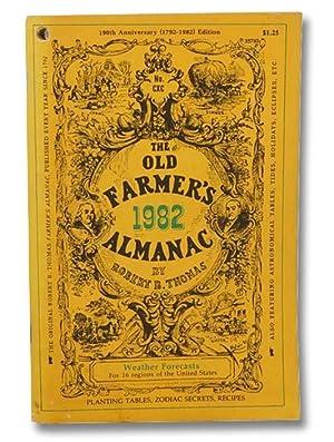 The Old Farmer's Almanac, 190th Anniversary (1792-1982): Thomas, Robert B.
