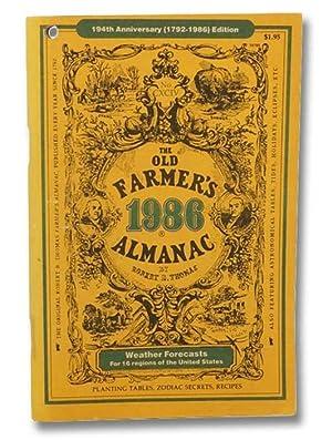 The Old Farmer's Almanac, 194th Anniversary (1792-1986): Thomas, Robert B.