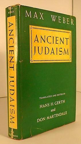 Ancient Judaism: WEBER, Max
