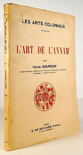 L'art de l'Annam: GOURDON, Henri