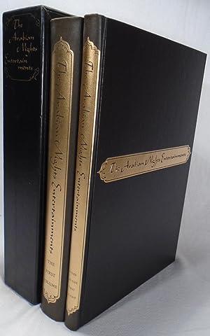 The Arabian Nights Entertainments Volumes One and: BURTON, Sir Richard