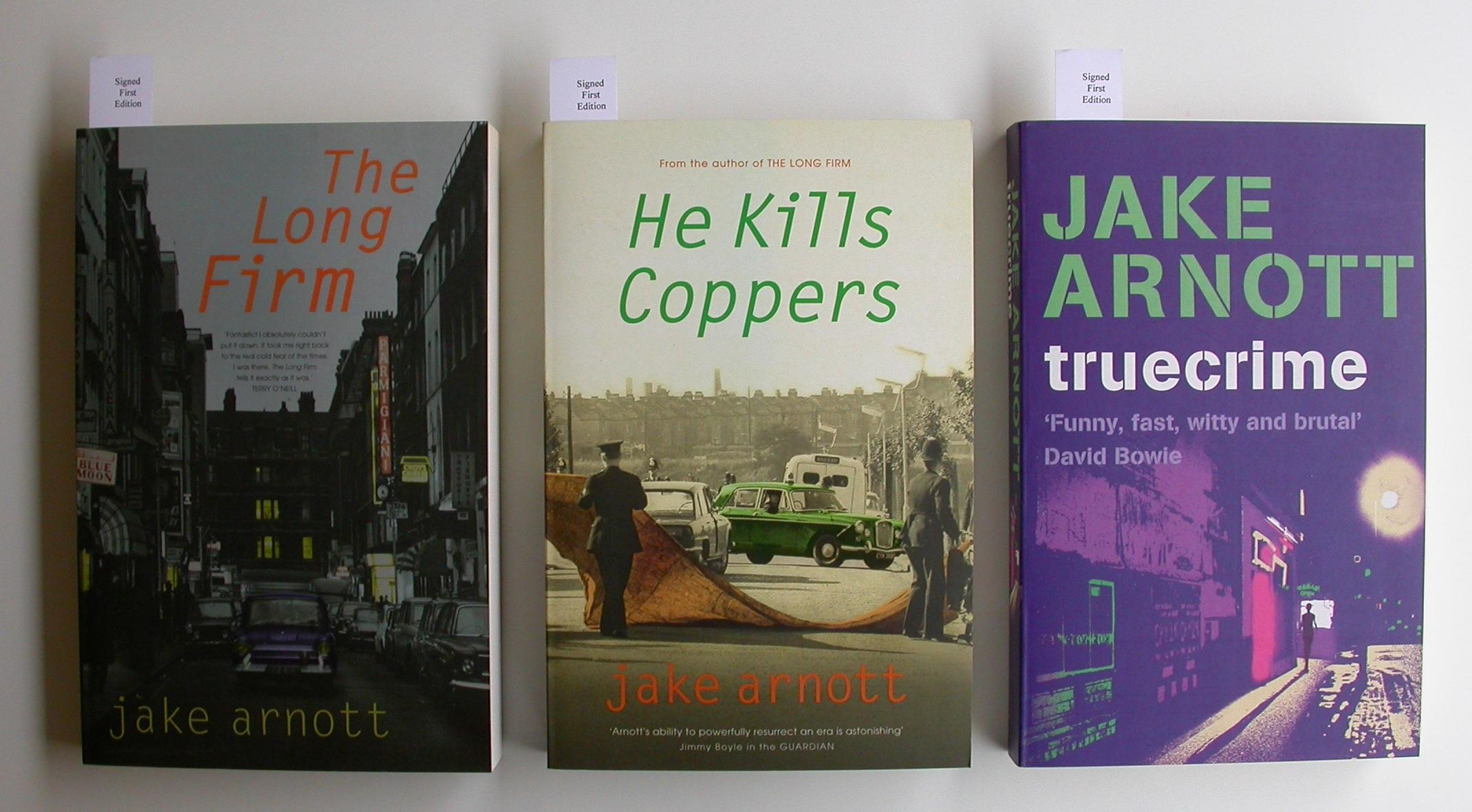 Long Firm - He Kills Coppers - Truecrime Arnott, Jake