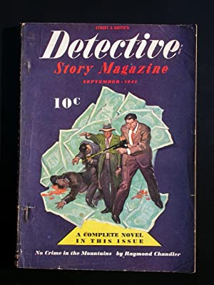 "First Publication of Raymond Chandler's Story ""No: Chandler, Raymond"