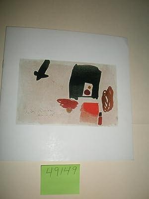 Julius Bissier: Brushdrawings, Watercolors, Oiltemperas: Bissier Julius] Stevens,