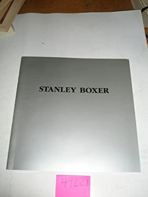 Stanley Boxer: Recent Paintings, February 17 -: Goldie Konopny and