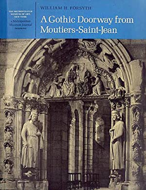 A Gothic Doorway from Moutiers-Saint-Jean