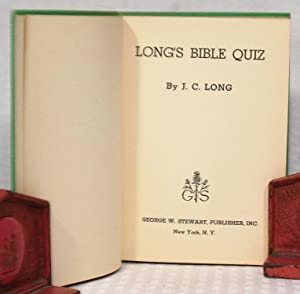 Long's Bible Quiz: J. C. Long