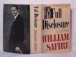 Full Disclosure: Safire, William L.