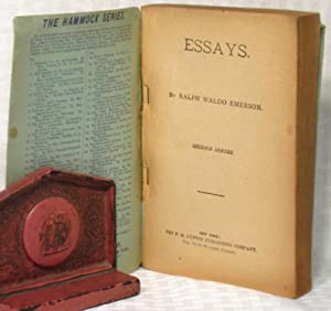 Essays, Second Series: Ralph Waldo Emerson
