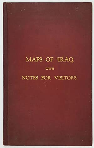 Maps Of Iraq With Notes For Visitors