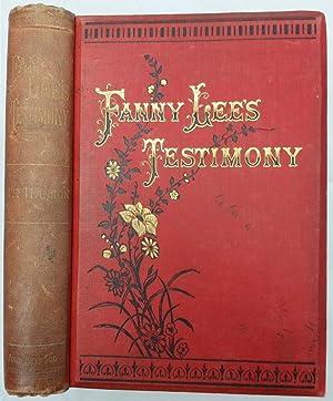 Fanny Lee's Testimony : A Yorkshire Tale: Hanson, Mrs James